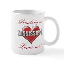 Somebody In Mississippi Loves Me Mugs