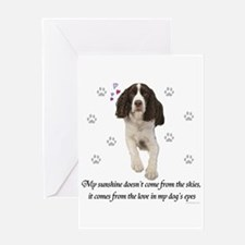 English Springer Spaniel Greeting Cards