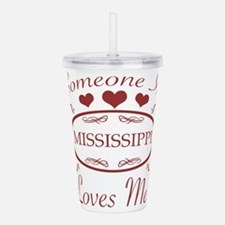 Somebody In Mississipp Acrylic Double-wall Tumbler