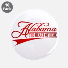 "Alabama State of Mine 3.5"" Button (10 pack)"