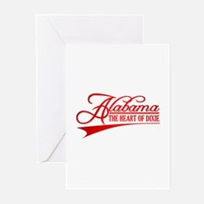 Alabama State of Mine Greeting Cards