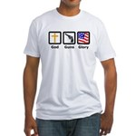 3G's Fitted T-Shirt