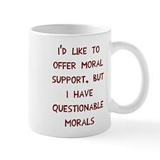 Questionable Morals Mug