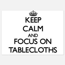 Keep Calm and focus on Tablecloths Invitations