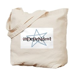 Independent Tote Bag