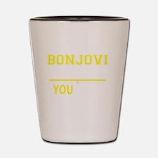 Cute Bonjovi Shot Glass