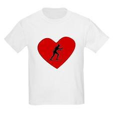 Biathlete Heart T-Shirt