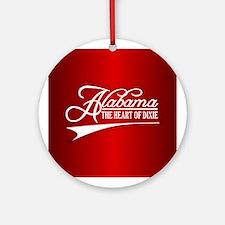 Alabama State of Mine Ornament (Round)
