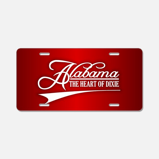 Alabama State of Mine Aluminum License Plate