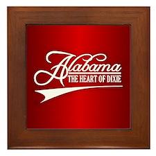 Alabama State of Mine Framed Tile