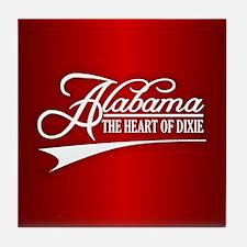 Alabama State of Mine Tile Coaster