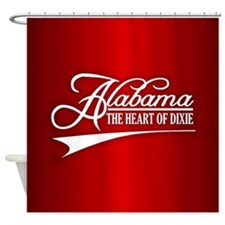 Alabama State of Mine Shower Curtain