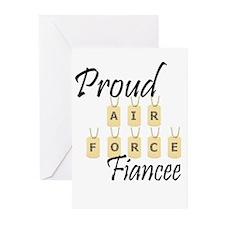 Camo AF Fiancee Greeting Cards (Pk of 10)