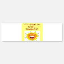 PHARMACIST.png Bumper Bumper Sticker