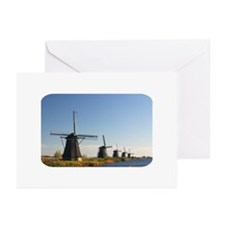 Windmills Greeting Cards (Pk of 10)