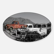 Antiques Oval Decal