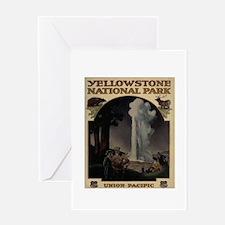 YELLOWSTONE5 Greeting Card