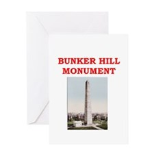 bunker hill Greeting Card