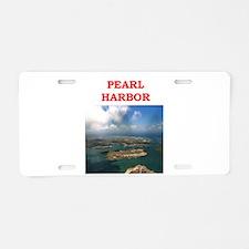 pearl harbor Aluminum License Plate