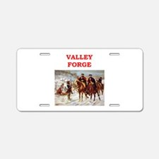 valley forge Aluminum License Plate