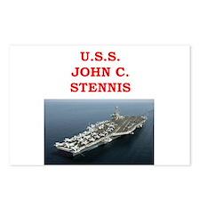 john c stennis Postcards (Package of 8)