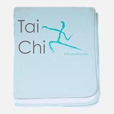 Tai Chi 1 baby blanket