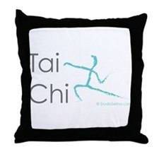 Tai Chi 1 Throw Pillow