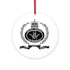 Your Masonic Pride Ornament (Round)