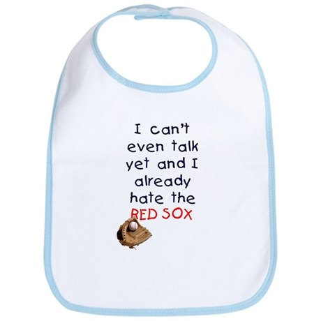 Baby Humor RedSox Hater Bib