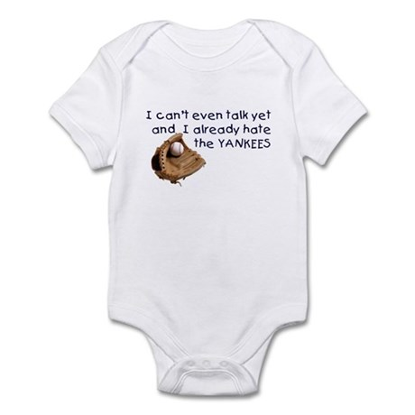 Baby Humor shirts Yankees Hater Infant Bodysuit