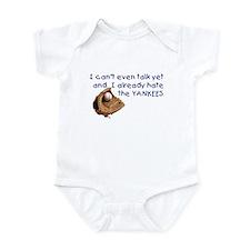Baby Humor shirts Yankees Hater Onesie