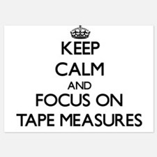 Keep Calm and focus on Tape Measures Invitations