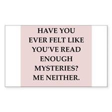 mysteries Decal
