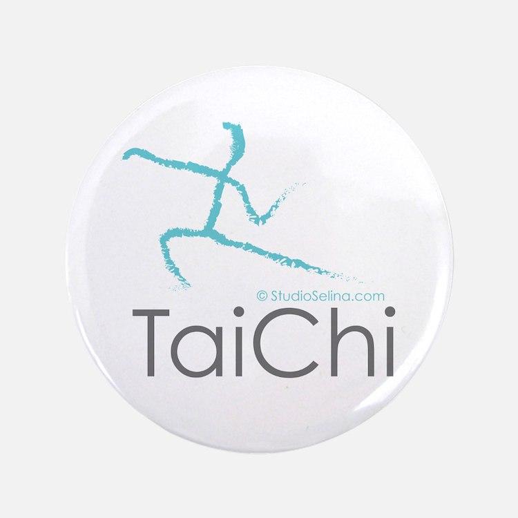 """Tai Chi 2 3.5"""" Button"""