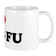 I Love KUNG FU Small Mug