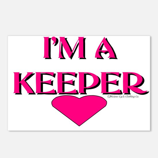 I'M A KEEPER Postcards (Package of 8)