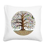 Tree of life Square Canvas Pillows