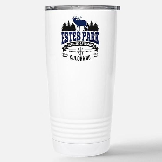 Estes Park Vintage Stainless Steel Travel Mug