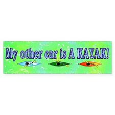 My Other Car is a Kayak Bumper Bumper Sticker