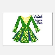 Irish Dance Team Postcards (Package of 8)