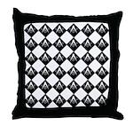 Masonic Tiles Throw Pillow