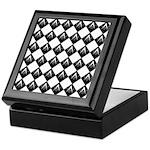 Masonic Tiles Keepsake Box