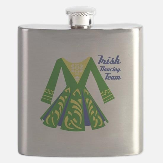 Irish Dance Team Flask