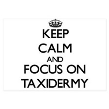 Keep Calm and focus on Taxidermy Invitations