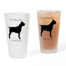 Original Body Cane Corso Drinking Glass