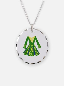 Celtic Dance Dress Necklace