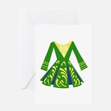 Celtic Dance Dress Greeting Cards