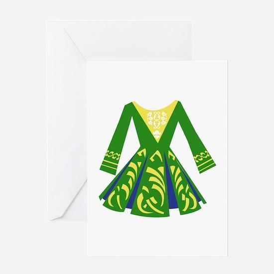Celtic Dance Dress Greeting Cards