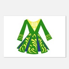 Celtic Dance Dress Postcards (Package of 8)