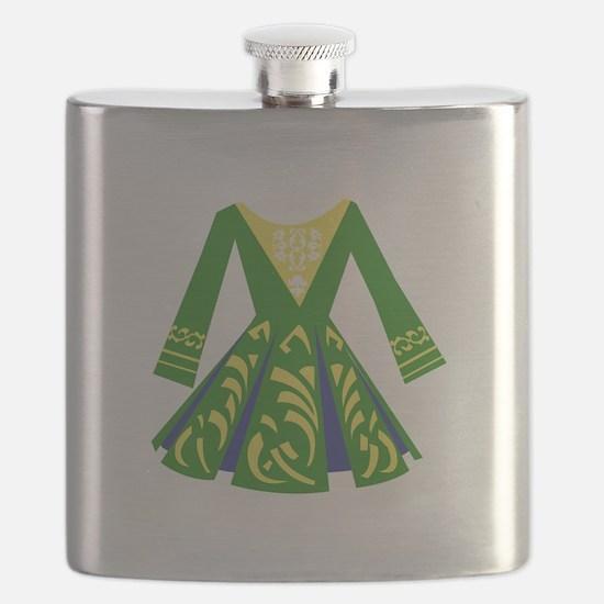Celtic Dance Dress Flask